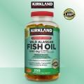 Dầu Cá Kirkland Wild Alaskan Fish Oil 1400mg