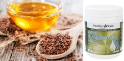 Dầu Hạt Lanh Healthy Care Super Flaxseed Oil