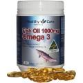 Dầu Cá  Fish Oil Healthy Care Omega 3 1000mg
