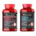 Puritan's Pride Triple Omega 3 6 9 Fish & Flax Oils