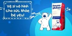 Siro Imuno Glukan Bổ Sung Dưỡng Chất Cho Trẻ 0-5 Tuổi