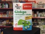 Viên Uống Bổ Não Doppelherz Aktiv Ginkgo + Vitamin B + Cholin