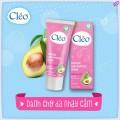 Kem Tẩy Lông Cleo Avocado Hair Removal Cream, Hồng