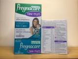 Pregnacare New Mum - Cải Thiện Da & Tóc Cho Phụ Nữ Sau Sinh