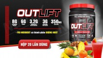 Sữa Nutrex Outlift Pre-Workout Powerhouse