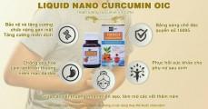 Tinh Nghệ Dạng Lỏng Nano Curcumin