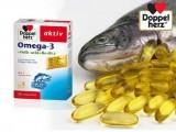 Viên Uống Doppelherz Omega 3 + Folic Acid + B6 + B12