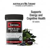 Vitamin tổng hợp cho nam Swisse Men's Ultivite 50+