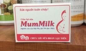 Review cốm lợi sữa Mummilk có tốt không thành phần, công dụng