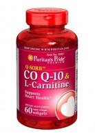 Viên Uống Hỗ Trợ Tim Mạch Puritan's Pride Coq10 & L-carnitine