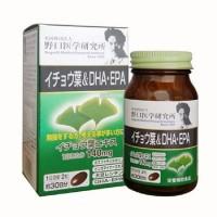 Viên Uống Bổ Não DHA EPA Ginkgo Noguchi Nhật Bản