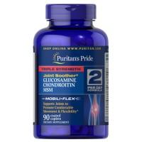 Viên Uống Puritan's Pride Triple Strength Glucosamine Hỗ Trợ Xương Khớp
