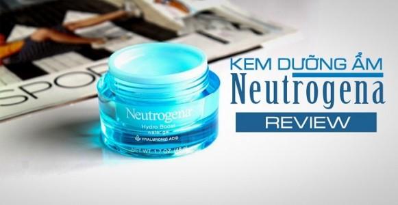 Review kem dưỡng ẩm Neutrogena Hydro Boost Water Gel