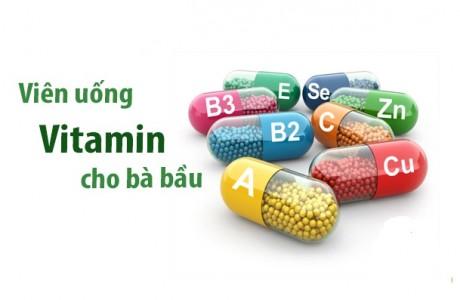 Các loại vitamin tổng hợp cho bà bầu tốt nhất