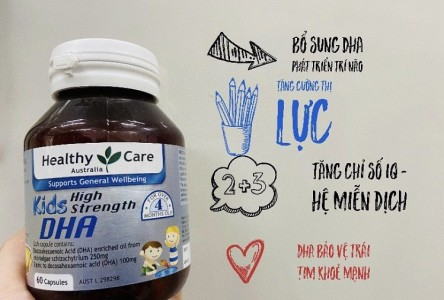 [Giải đáp] DHA Healthy Care uống lúc nào