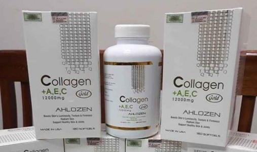Review Collagen AEC Gold 12000mg Ahlozen cao cấp từ Mỹ