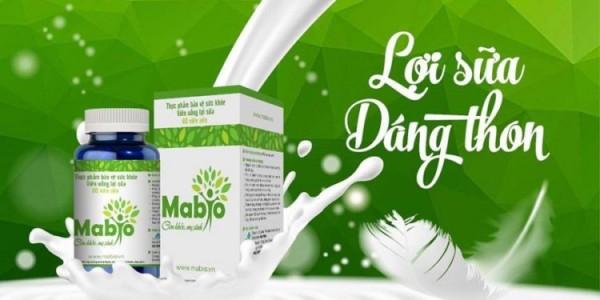 Review viên uống lợi sữa Mabio thành phần, công dụng, có tốt không