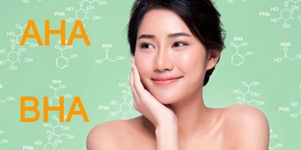 AHA và BHA là gì? Phân biệt sự khác nhau giữa AHA và BHA