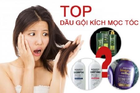 Review những loại dầu gội kích thích mọc tóc nhanh và dày