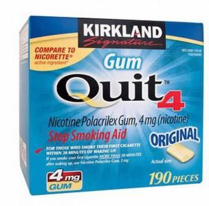 Kẹo cai thuốc lá Kirkland Gum Quit