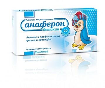 Viên uống Anaferon của Nga hỗ trợ tăng sức đề kháng