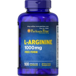 Viên uống giải độc gan Puritan's Pride L-Arginine, Mỹ