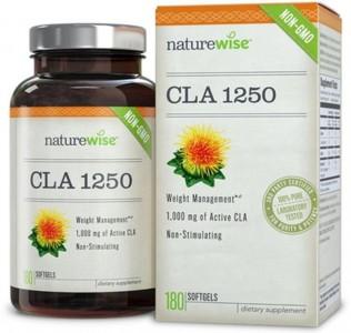 Viên uống hỗ trợ giảm cân Nature Wise CLA 1250
