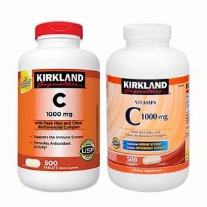 Vitamin C Kirkland Mỹ 1000mg