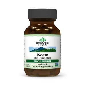 Viên uống Neem Organic India thanh lọc máu