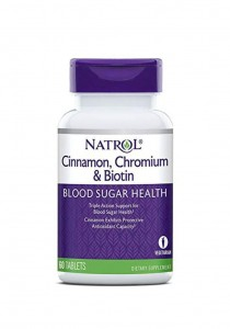 Viên Uống Natrol Cinnamon Biotin Chromium