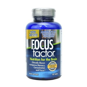 Viên Uống Focus Factor Nutrition For The Brain Bổ Não 180 viên