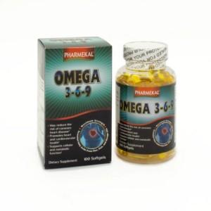 Viên uống dầu cá Omega 3 6 9 Pharmekal hộp 100 viên