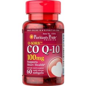 Viên uống bổ tim mạch Puritan's Pride Coq10 100mg của Mỹ