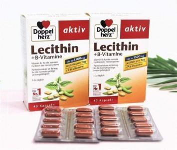 Tinh Chất Mầm Đậu Nành Doppelherz Lecithin + Vitamin B