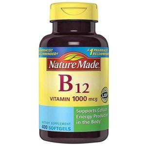 Viên Uống Bổ Sung Nature Made B12 Vitamin 1000 MCG