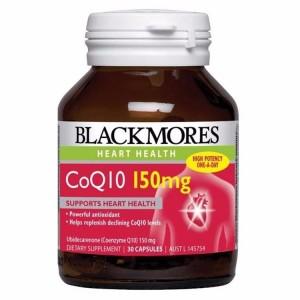 Viên uống bổ tim mạch CoQ10 Blackmores của Mỹ