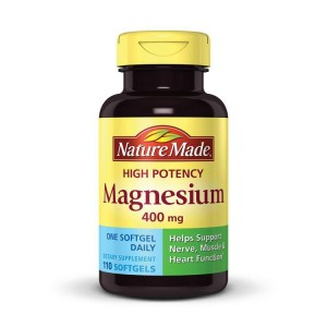 Viên uống Magnesium Nature Made 400mg