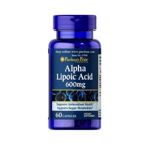 Viên uống Puritan's Pride Alpha Lipoic Acid 600mg