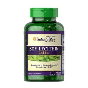 Viên uống mầm đậu nành Soy Lecithin Puritan's Pride