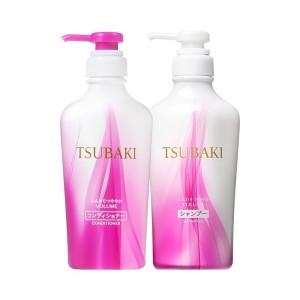 Bộ dầu gội xả Tsubaki đỏ Nhật Bản 450ml