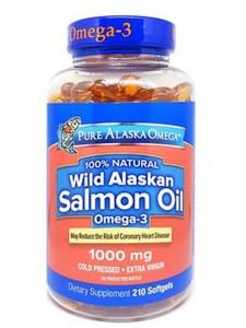 Viên dầu cá hồi Pure Alaska Omega Wild Alaskan Salmon Oil