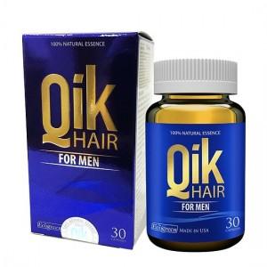Viên uống Qik Hair For Men hỗ trợ mọc tóc cho nam giới