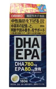 Viên uống bổ não, bổ mắt DHA EPA Orihiro Nhật Bản