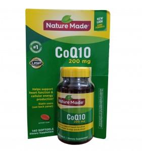CoQ10 200mg Nature Made - Viên Uống Hỗ Trợ Tim Mạch