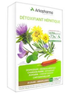 Nước uống giải độc gan Arkopharma Détoxifiant Hépatique