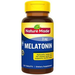 Viên uống cải thiện mất ngủ Nature Made Melatonin