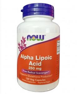 Viên uống Now Alpha Lipoic Acid của Mỹ