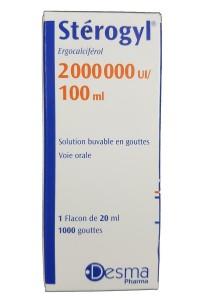 Vitamin D Sterogyl Cho Bé Từ 0-18 Tháng Của Pháp 100ml
