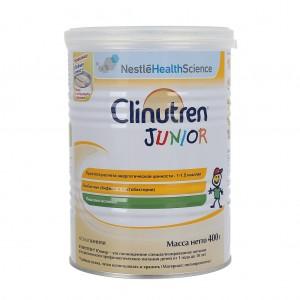 Sữa béo Clinutren Junior của Nga dành cho trẻ từ 1-10 tuổi