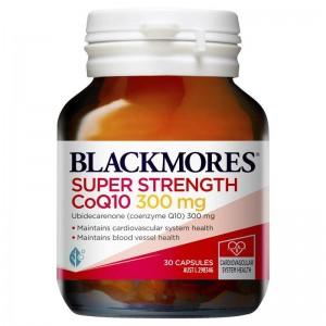 Viên hỗ trợ tim mạch Blackmores Super Strength COQ10 300mg